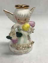 Vintage Figurine November angel A 1371 Napco  4.5 inch  Mid century 1950's - $24.25