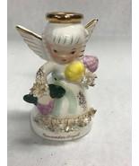 Vintage Figurine November angel A 1371 Napco  4.5 inch  Mid century 1950's - £17.27 GBP