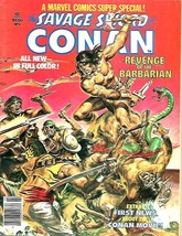 MARVEL COMICS SUPER SPECIAL #2 Savage Sword of CONAN 1977 Magazine COLOR... - $34.65