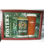 Big Vintage Foster's Premium Ale Beer Bar Sign Mirror  - $69.29