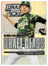 2013 Hunter Harvey Panini Prizm Draft Picks Draft Class Rookie Prizm - O... - $1.43