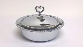 Vintage Shelton Ware Chrome Serving Dish & 2 Qt... - $14.70