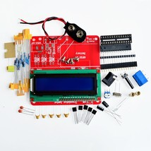 86 Plastic Shell + DIY Multifunction Transistor Tester Kit For LCR ESR T... - $15.85