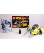 Lego Star Wars Episode III Jedi Starfighter and Vulture Droid (7256) Com... - $44.50