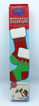 Hallmark Stickers Moveable Decorations Stockings Christmas 17x24 sheet D... - $14.99