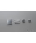 2x Raspberry Pi 4 Aluminum Heat Sinks Kit Self-Adhesive 4 Heatsinks US S... - $2.99
