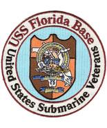 US Navy Submarine Veteran USS Florida Base Military Patch NEW!!! - $11.87