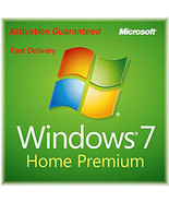 Windows 7 Home Premium 32/64 Bit Product Key with Download - $8.80