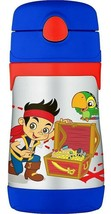 JAKE NEVER LAND PIRATES Thermos FUNtainer Stainless Steel Insulated 10oz... - $23.52
