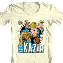 Ka-Zar Lord of the Hidden Jungle T shirt retro 1970's Marvel Comics graphic tee image 2