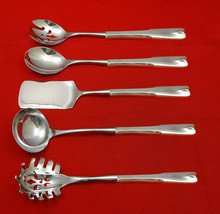 Colonial Theme by Lunt Sterling Silver Hostess Set 5pc HHWS  Custom Made - $409.00