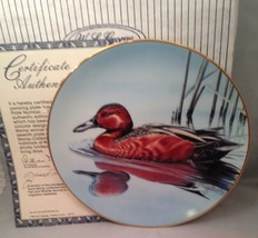W. S. George CINNAMON TEAL Duck Stamp Collector Plate w/ COA - $9.75