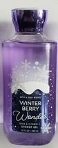Bath and Body Works Winter Berry Wonder Shower Gel - $8.49