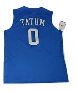 Duke blue devils jayson tatum 0 jersey swingman college basketball thumbtall