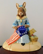 "Royal Doulton Bunnykins Figurine - ""Betsy Ross"" DB313 - $37.99"