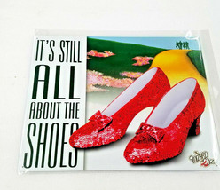"16"" Wizard of oz ruby red slippers its still all about the shoes art USA... - $44.55"