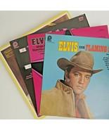 10x Elvis Presley LPs  Greatest Hits (1983) Flaming Star Mahalo Movies V... - $24.65