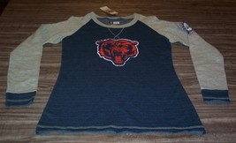 WOMEN'S TEEN CHICAGO BEARS NFL FOOTBALL CREW SWEATSHIRT SMALL NEW w/ TAG - $34.65