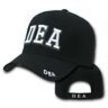 Dea Drug Enforcement Agency Black Police Hat Cap - $31.58