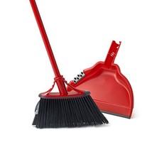 O-Cedar Dual-Action Angler Broom with Dust Pan - $24.30