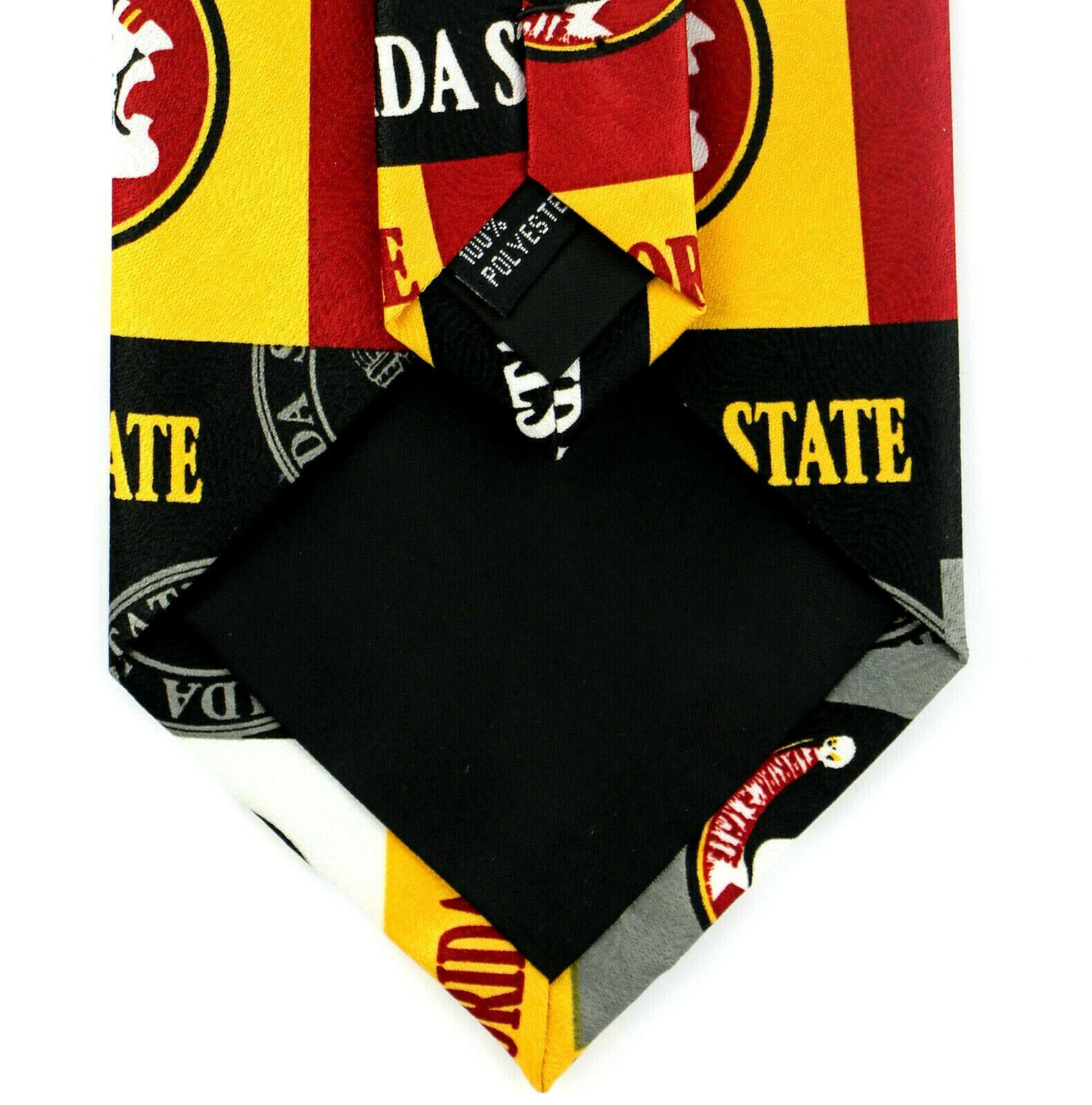 Florida State Seminoles Men's Licensed Necktie College University Red Neck Tie  image 4