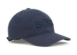 Hugo Boss Men's Casual Cotton Twill Cap Hat With 3D Embroidered Logo image 8