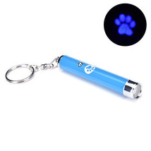 Portable Creative Funny Pet Cat Toys LED Laser Pointer light Pen With Br... - $2.79