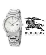 Burberry Watch BU9037 Swiss Trademark Unisex Stainless Steel Bracelet 38... - $219.00