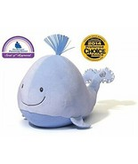 """GUND 11"""" Sleepy Seas Plush & Portable Soothing Sounds Lighted Baby Blue ... - $42.56"""