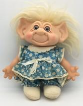 "Vintage Scandia House Troll Doll Vinyl Head Cloth Body 1960s 11"" - $49.95"