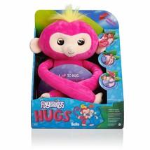 Fingerlings HUGS - Bella (Pink) - Interactive Plush Monkey by WowWee - $19.34