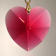 Swarovski Crystal Faceted Heart Prism image 5