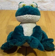 "Wishpets GREEN JIMMY FROG 8"" Plush STUFFED ANIMAL Toy - $15.35"