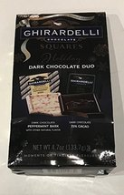 Ghirardelli Holiday Dark Chocolate Duo Squares 4.7 oz - $11.79