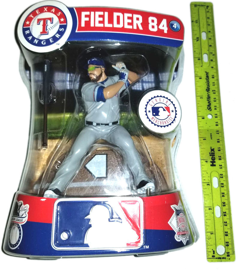 MLB Texas Rangers Prince Fielder 84 Player Replica Figure * Imports Dragon