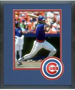Jody Davis 1982 Chicago Cubs Action- 11x14 Team Logo Matted/Framed Photo - $42.95