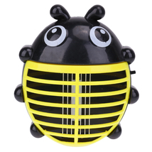 (yellow)Cartoon Beetle Shaped Electric Mini Mosquito Lamp LED Anti Mosquito Repe - $18.00