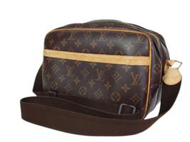 Authentic LOUIS VUITTON REPORTER MM Monogram Canvas Shoulder Bag LS17001L - $449.00