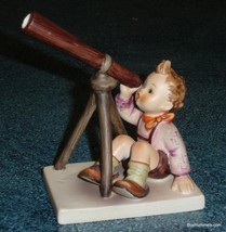"""""""Star Gazer"""" Goebel Hummel Figurine #132 TMK3 - Collectible Astronomy Gift! - $110.00"""