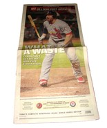 10.25.2011 St Louis POST-DISPATCH Newspaper Cardinals World Series 5 Nic... - $14.99