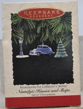 Hallmark - Nostalgic Houses & Shops - Accessories - Miniature Set of 3 O... - $10.59