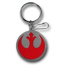Star Wars Rebel Symbol Enamel Keychain Grey - $10.98