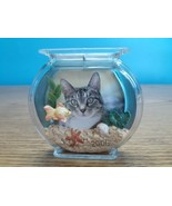 Hallmark Special Cat Fish Bowl Photo Frame Fridge Magnet Ornament 2006 K... - $9.85