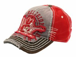 True Religion Men's Premium Vintage Distressed Buddha Trucker Hat Cap TR1101 image 10