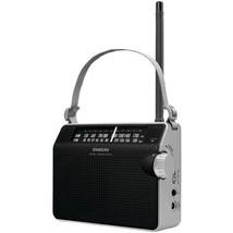 AM/FM Compact Analog Radio (Black)  - $49.99