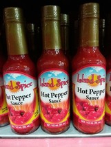 Island Spice Hot Pepper Sauce 142ml (3 bottles) - $19.64