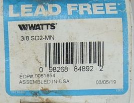 Watts 0061654 Lead Free 3/8 Inch Dual Check Valve Carbonated Beverage Machines image 4