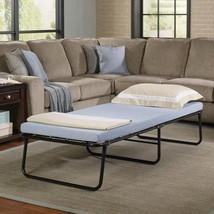 Folding Bed Memory Foam Mattress Roll Away Guest Portable Sleeper Cot - $189.99
