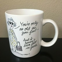 Maxine Shoebox Greetings Coffee Mug/Cup Funny/Comic I Havent Been Felt I... - $10.35