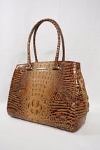NWT Brahmin Alice Carryall Tote / Shoulder Bag Toasted Almond Melbourne - $319.00